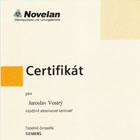 Certifikát o úspěšném absolvování semináře Tepelná čerpadla Siemens